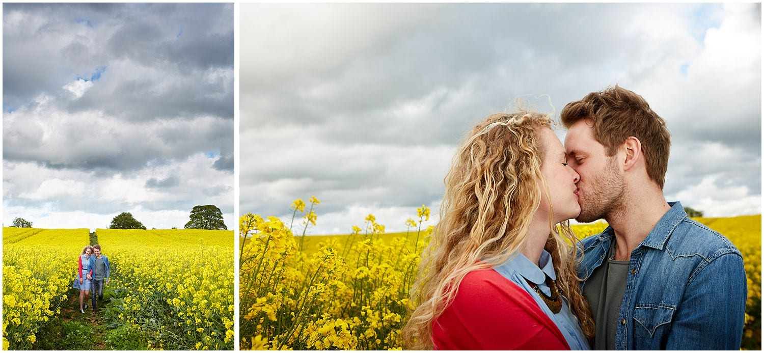 beautiful =Lincolnshire on an engagement photoshoot