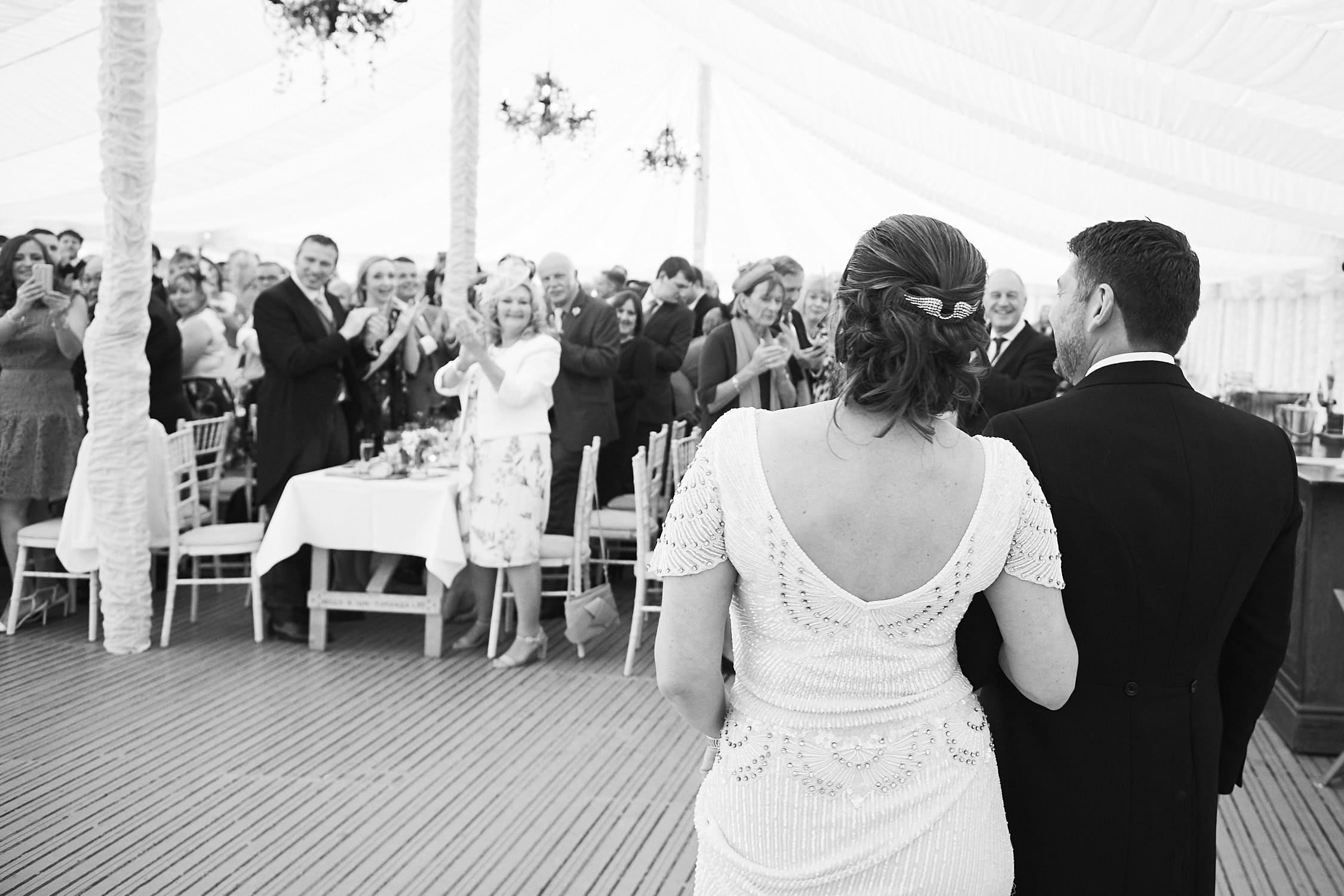 Lincolnshire couple wedding reception in Heckington Lincolnshire