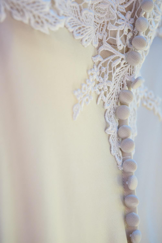 Dress details of buttons