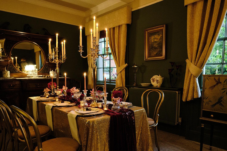 Intimate wedding room near Spilsby